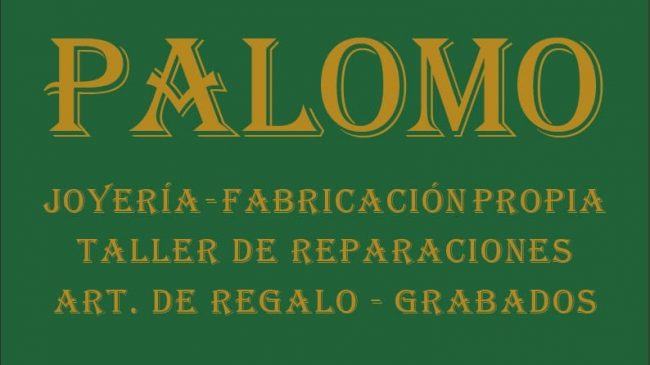 Joyería Palomo