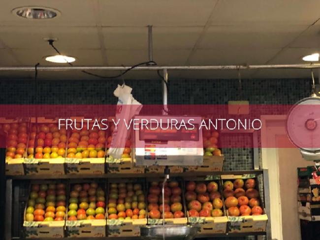 FRUTAS Y VERDURAS ANTONIO