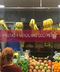 FRUTAS Y VERDURAS LOLI PÉREZ